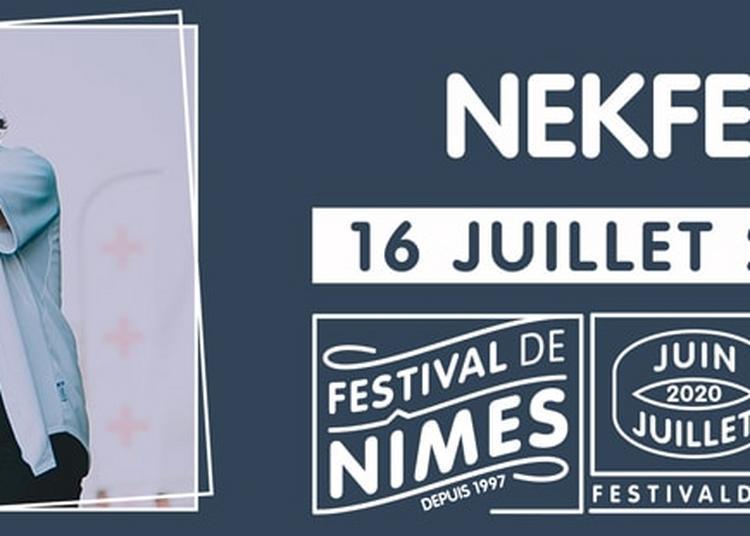 Nekfeu à Nimes
