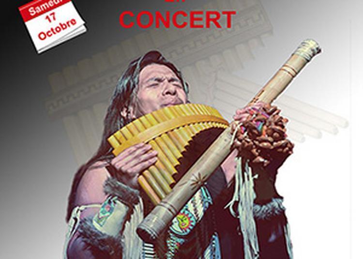 Leo Rojas en concert à Brignais