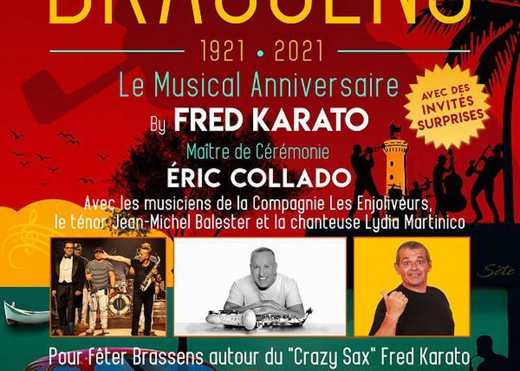 Les 100 Ans De Brassens ! à Paris 14ème