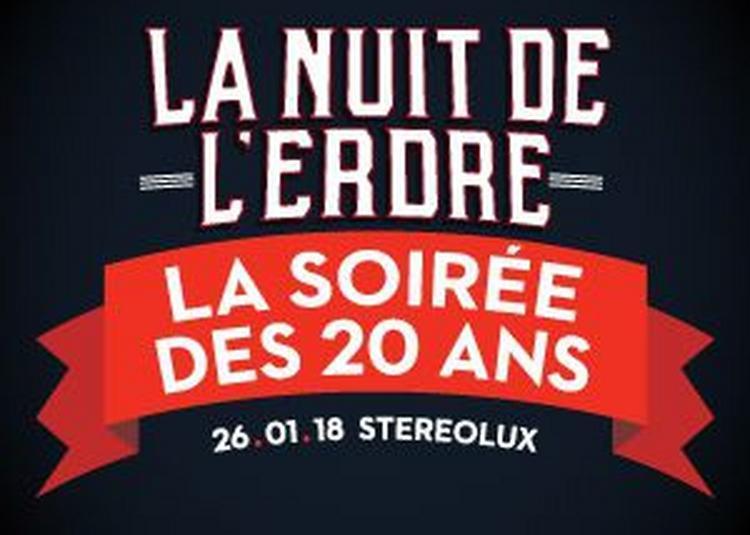 Les 20 Ans De La Nuit De L'Erdre à Nantes