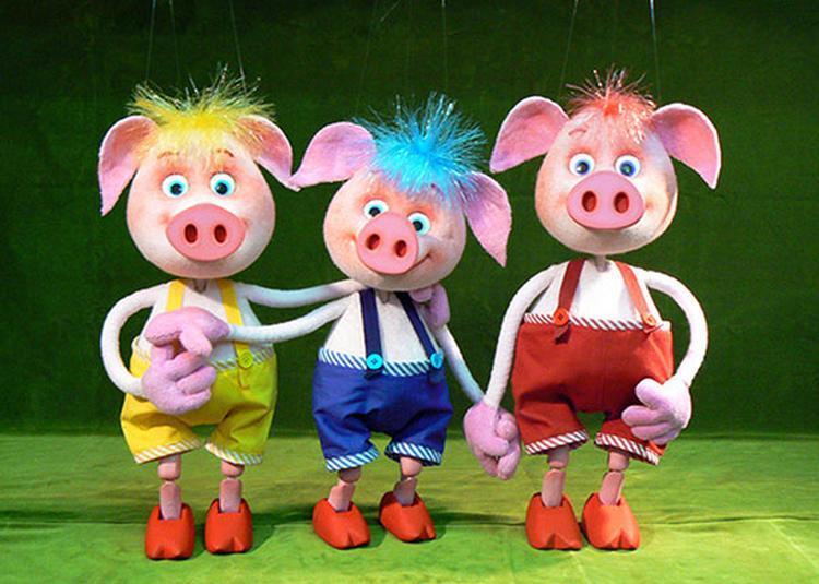 Les 3 Petits Cochons à La Chapelle d'Armentieres