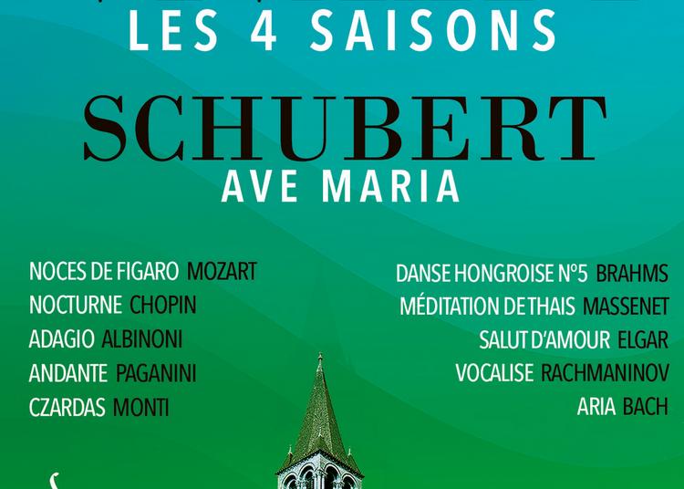Les 4 Saisons De Vivaldi, Ave Maria Et Célèbres Adagios à Paris 6ème