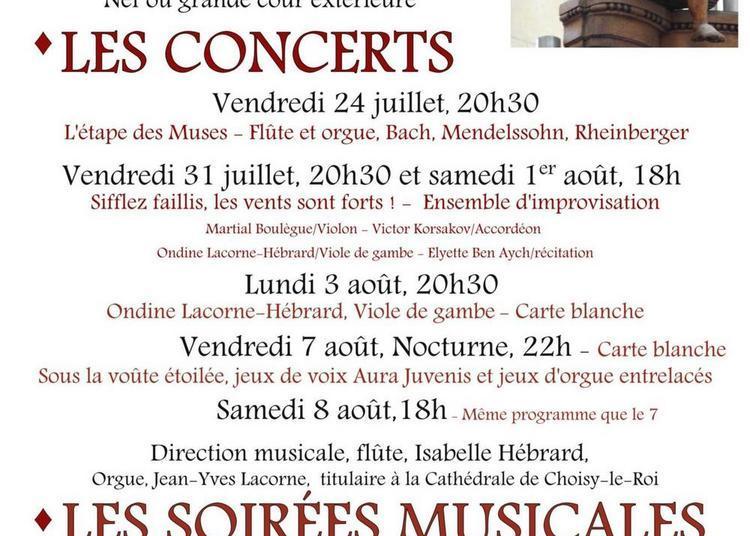 Les Abbatiades de Montebourg, Festival de Musique en Cotentin 2020