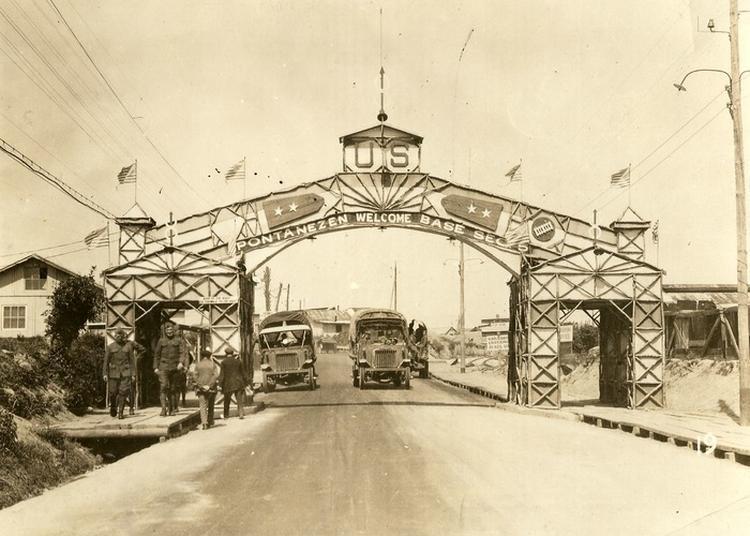Les Américains À Brest En 1917 Du Cours Dajot À L'hôtel De Ville