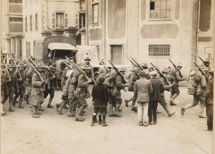 Les Américains À Brest En 1917, Expo-parcours Du Port De Commerce À La Gendarmerie Buquet