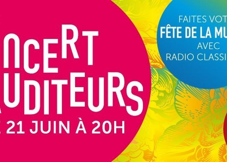 Les auditeurs de Radio Classique fêtent la musique à Paris 8ème
