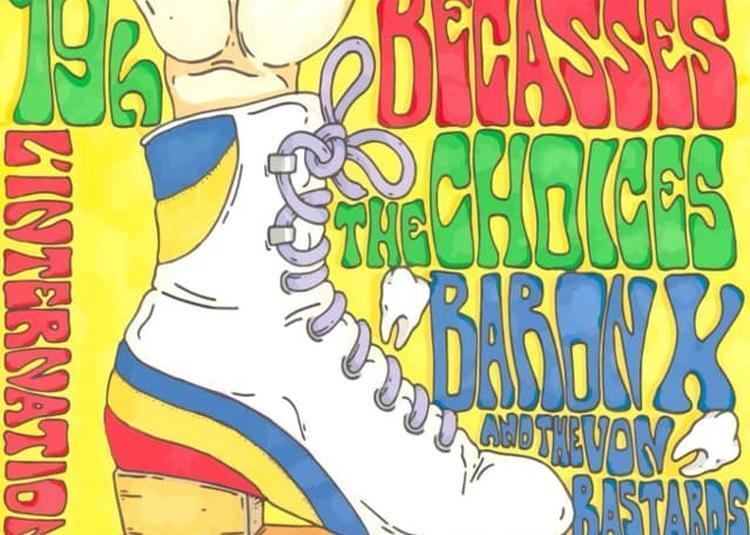 Les Bécasses, The Choices, Baron X & The Von Bastards à Paris 11ème