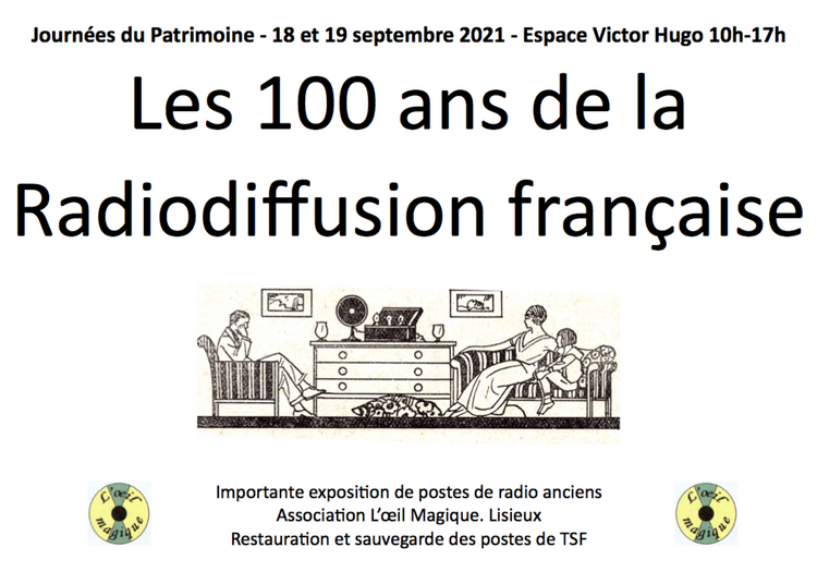 Les cent ans de la radiodiffusion française à Lisieux