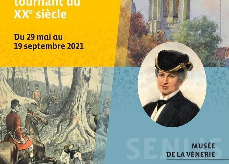 Les Chasses De La Duchesse D'uzès (1878-1933) à Senlis