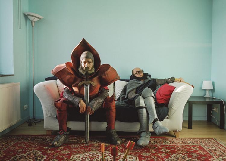 Les chevaliers à Gauchy