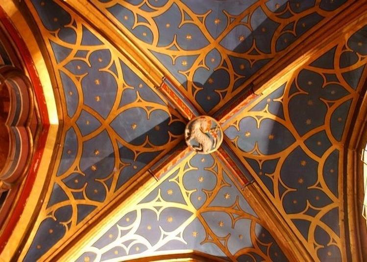 Les Clés De Voûtes Et De Saint-pierre-le-jeune à Strasbourg