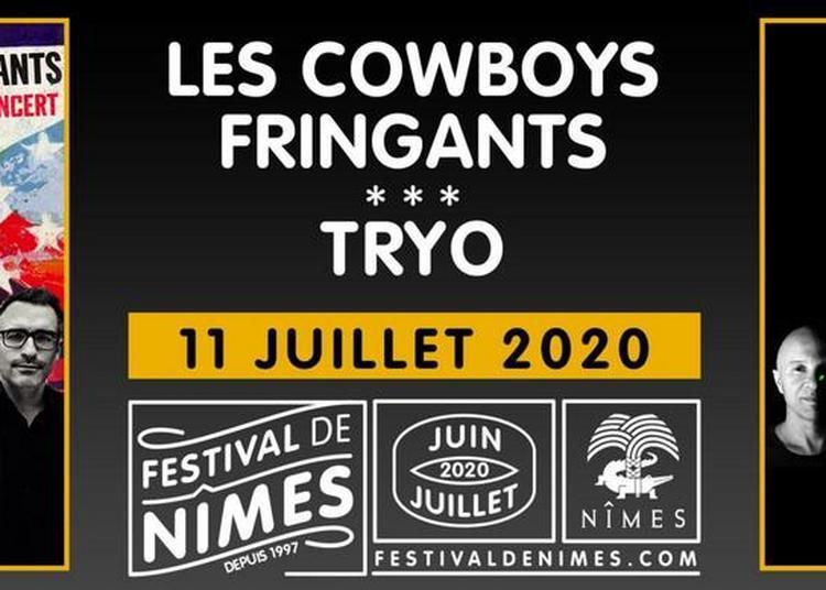 Les comboys fringants et Tryo à Nimes