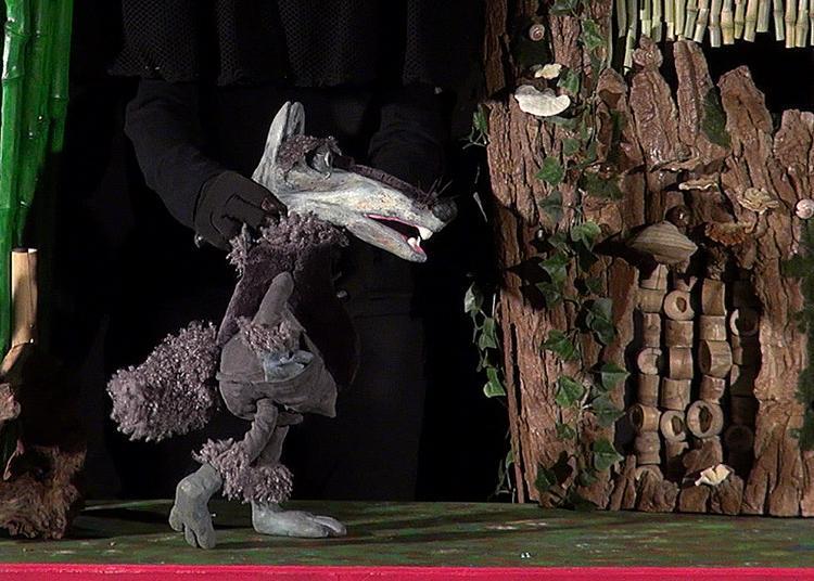 Les couleurs de Loup. Marionnette jeune public à paritr de 3 ans à Toulouse