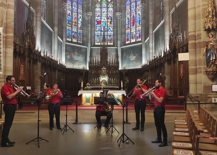 Les Cuivres Et L'orgue Sont à L'honneur Le Temps D'un Concert ! à Obernai