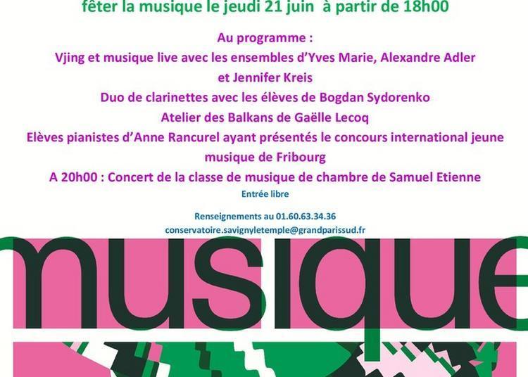 Les Ensembles Des élèves Du Conservatoire En Concert à Savigny le Temple