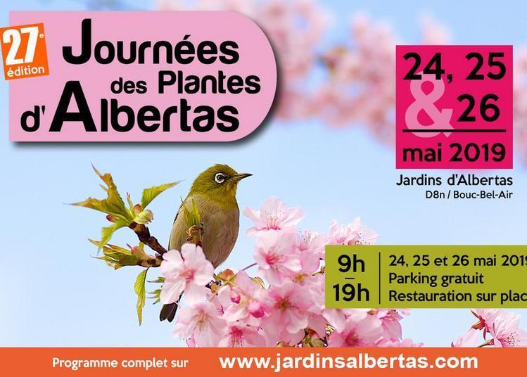 27e édition des Journées des Plantes d'Albertas 2019