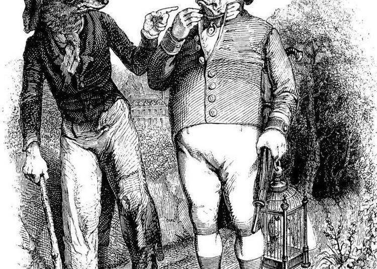Les Fables De La Fontaine En Chanson, Avec Pascale, Gérard Et Aurélien à L'accordéon. à Issy les Moulineaux