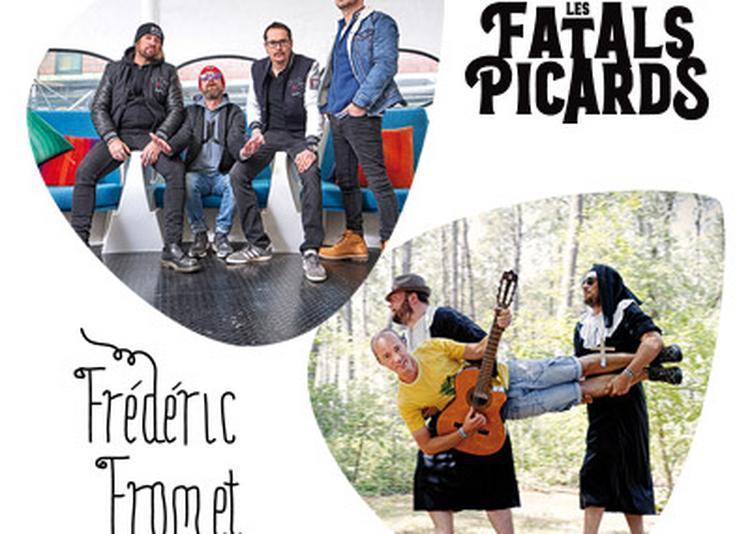 Les Fatals Picards et Frédéric Fromet au Transbordeur à Villeurbanne