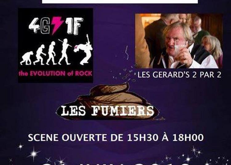Les Fumiers - Les Gerards 2 par 2 - The anatol (Fête de la Musique 2018) à Valenciennes