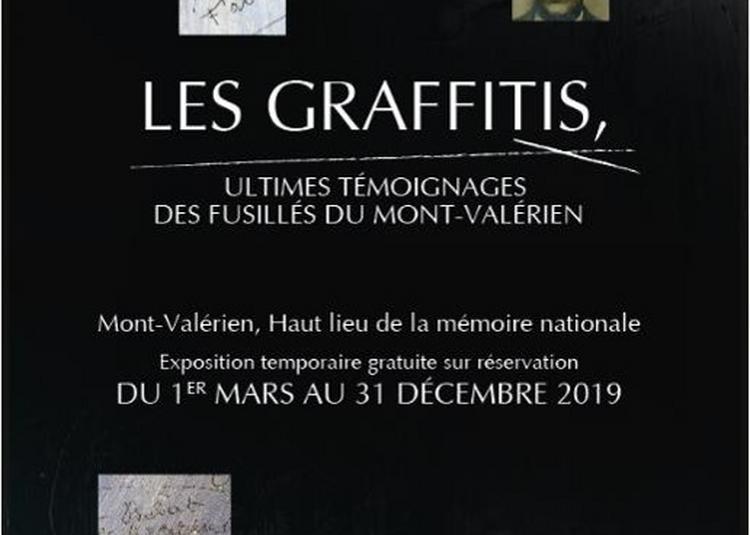 Les graffitis, ultimes témoignages des fusillés du Mont-Valérien à Suresnes