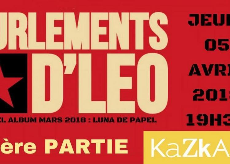 Les Hurlements d'Léo et 1ère partie en Ardèche! à Joyeuse