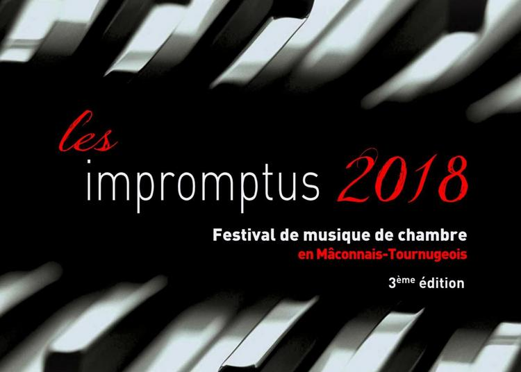 Les impromptus / Festival de musique de chambre en Mâconnais-Tournugeois / opus 8 à Ozenay