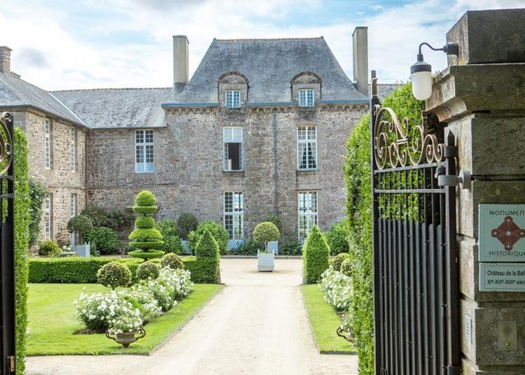 Les Journées Du Patrimoine 2017 Au Château De La Ballue à Bazouges la Perouse