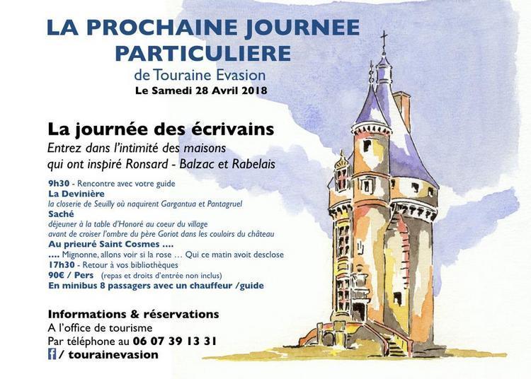 Les Journées Paticulières : les écrivains en Touraine à Tours