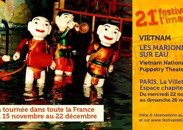 Les Marionnettes sur eau, Vietnam Puppetry Theater / Vietnam à Paris 19ème