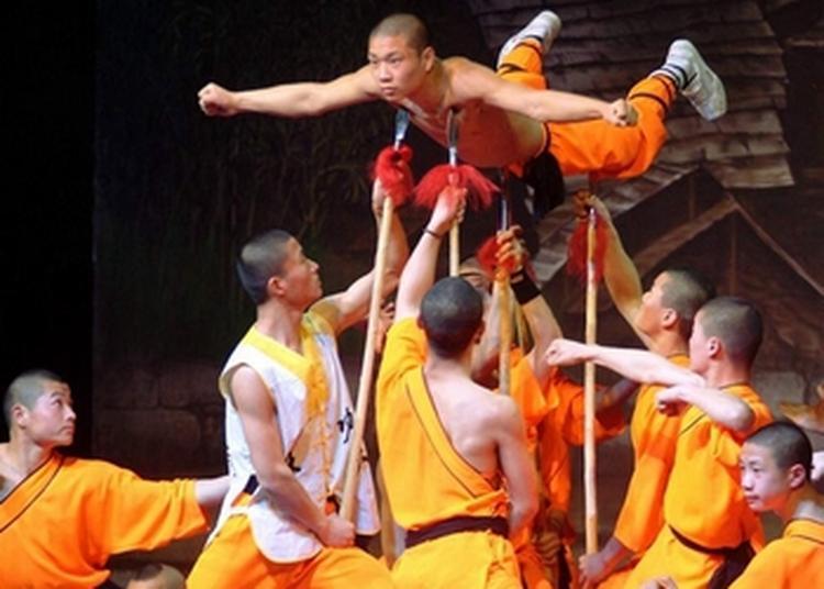 Les Moines Shaolin à Sanary sur Mer