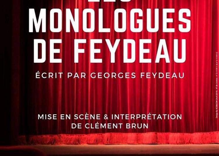 Les Monologues De Feydeau à Nice