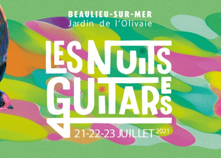 Les Nuits Guitares 2021 Pass 3 Jours à Beaulieu sur Mer