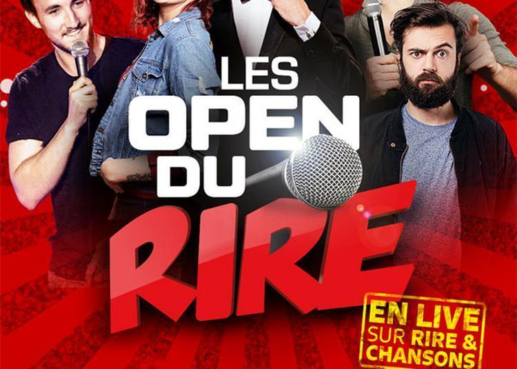 Les Open Du Rire à Paris 11ème