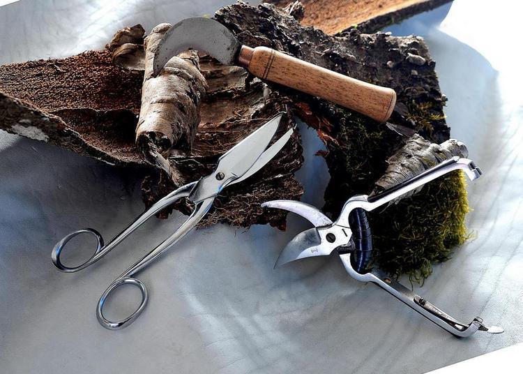 Les outils de jardin à Nogent