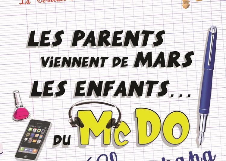 Les parents viennent de Mars, Les enfants... Du Mc Do ! Chez Papa à Montpellier