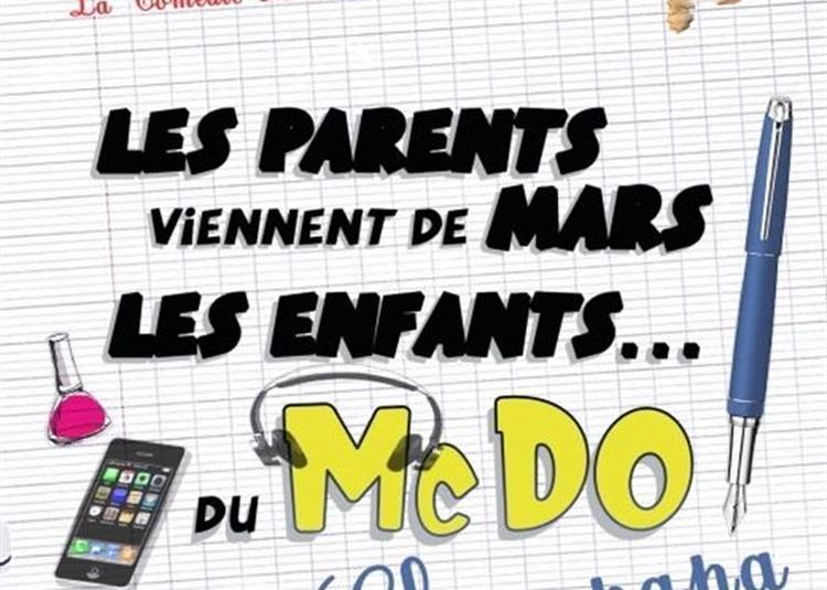 Les Parents Viennent De Mars, Les Enfants Du McDo ! Chez Papa à La Rochelle
