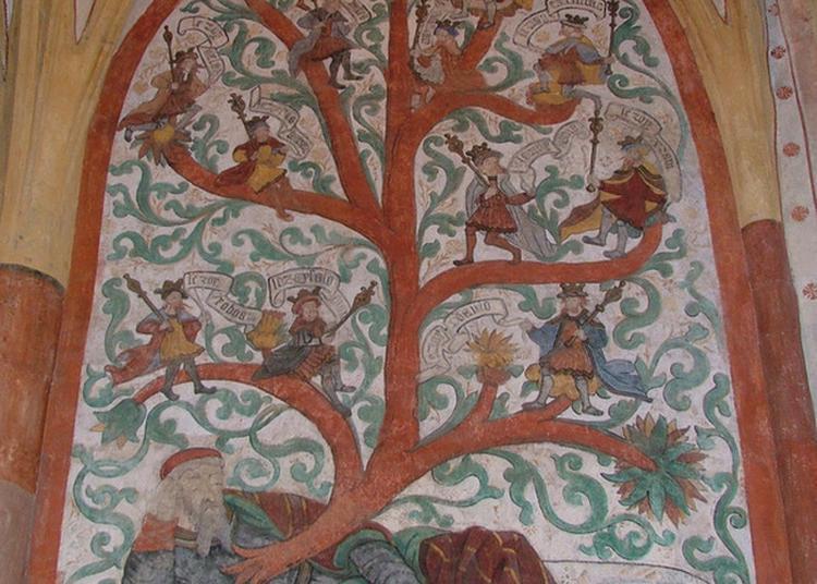 Les Peintures Murales De L'église Saint-martin à Sillegny