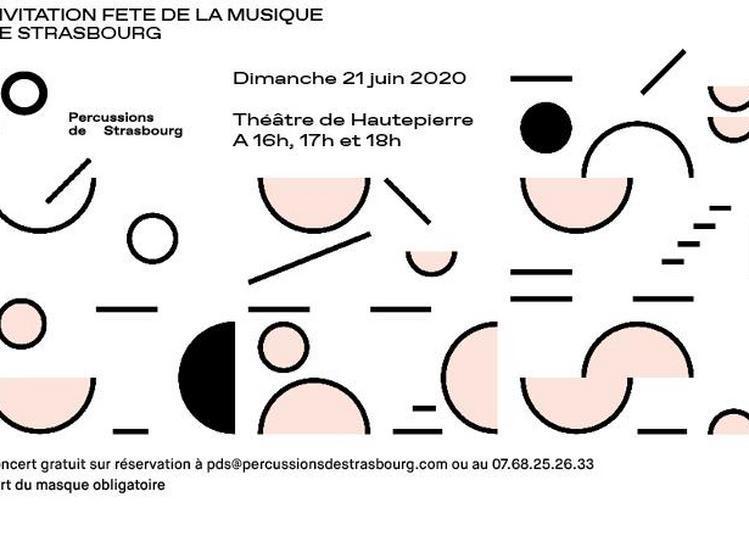 Les Percussions de Strasbourg au Théâtre de Hautepierre