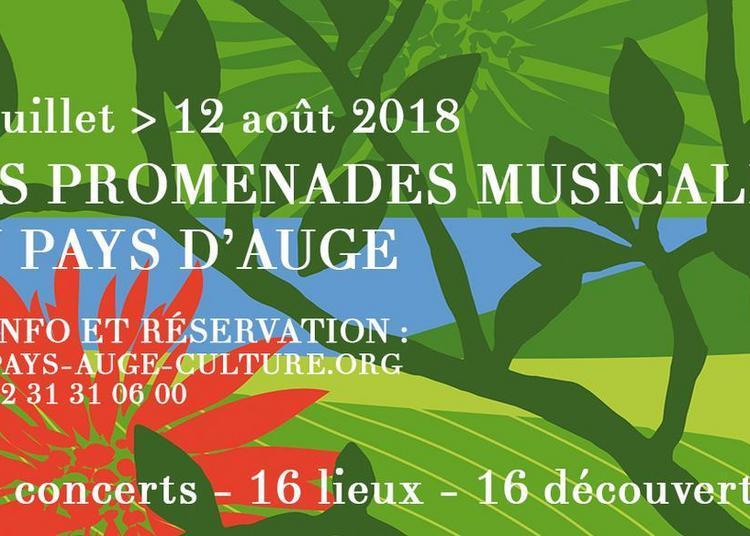 Les Promenades musicales du Pays d'Auge 2018
