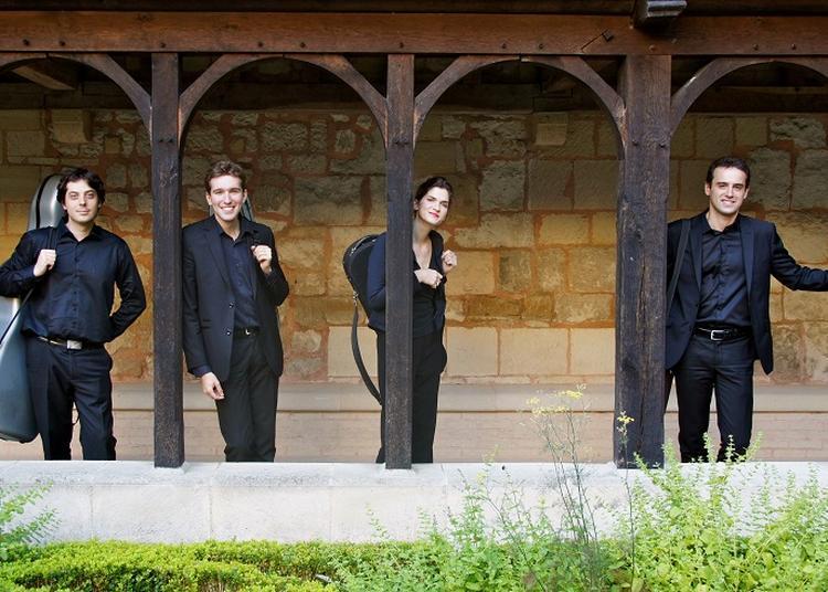 Les quatuors de Grieg et de Franck par le quatuor Onslow à Paris 10ème