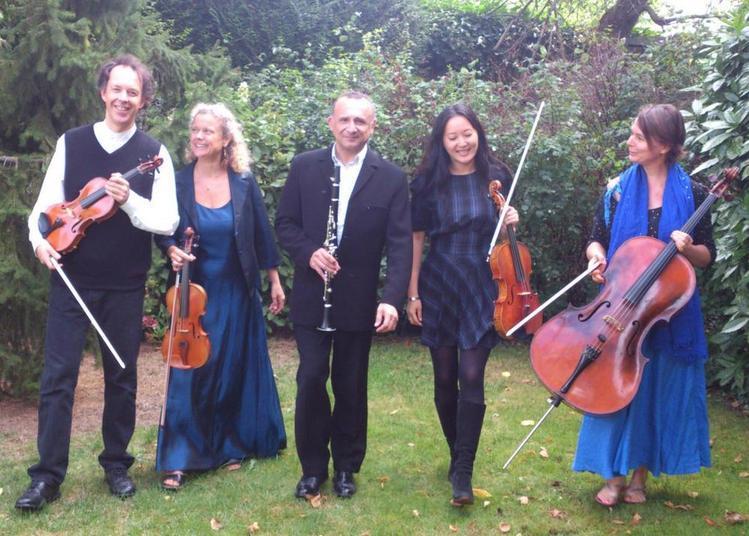 Les Quintettes Avec Clarinette De Mozart Et De Brahms, Par Le Quatuor Antarès Et Bruno Habif à Paris 10ème