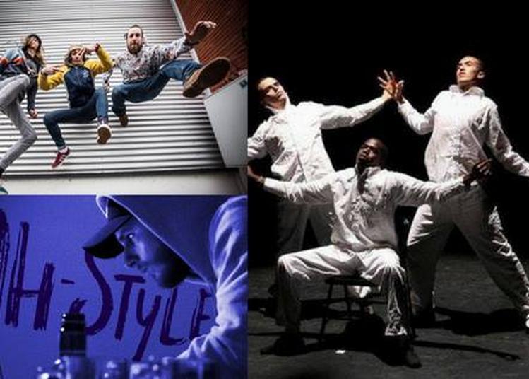 Les Rappeurs en cartons, Jah Style et Dstreet (show) à Roubaix