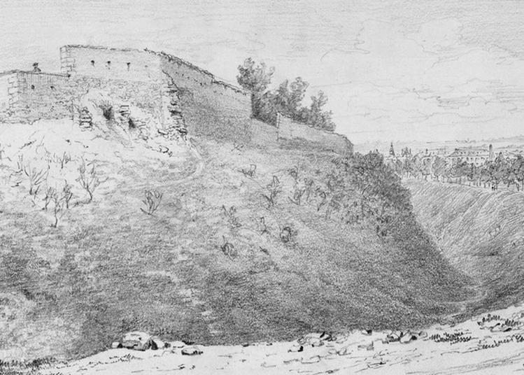 Les Remparts En Dessin : Découverte Artistique Des Anciens Remparts De Reims