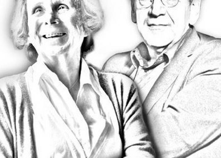 Les Rencontres Du Figaro - Elisabeth De Fontenay Et Alain Finkielkraut à Paris 8ème