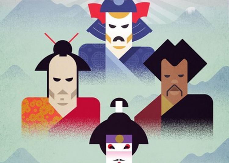 Les 3 Samouraïs à Issy les Moulineaux