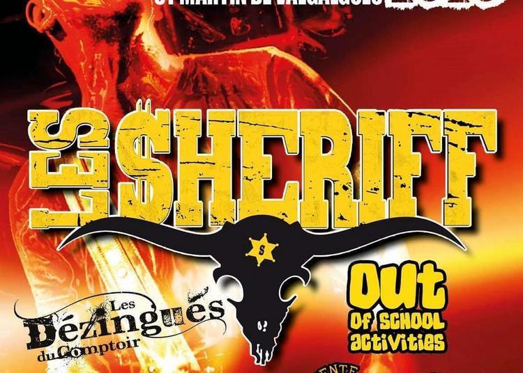 Les Sheriff En Concert à Saint Martin de Valgalgues
