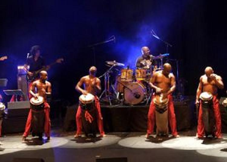 Les Tambours De Brazza  + 1ère Partie à Oignies