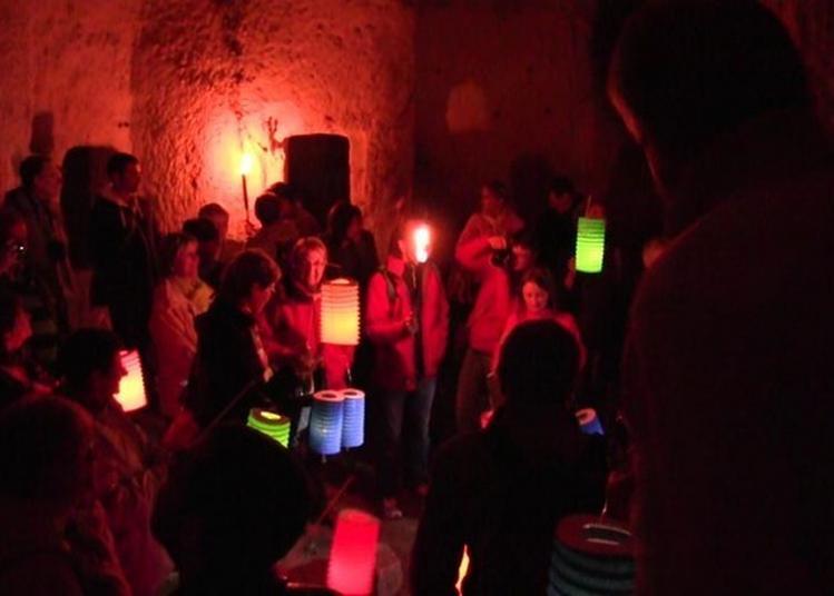 Les Troglos Dévoilés : Visite Nocturne à Loches