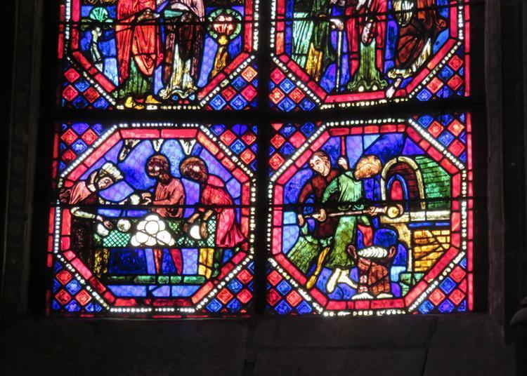 Les Vitraux Nous Racontent Les Métiers Au Moyen Age à Bourges