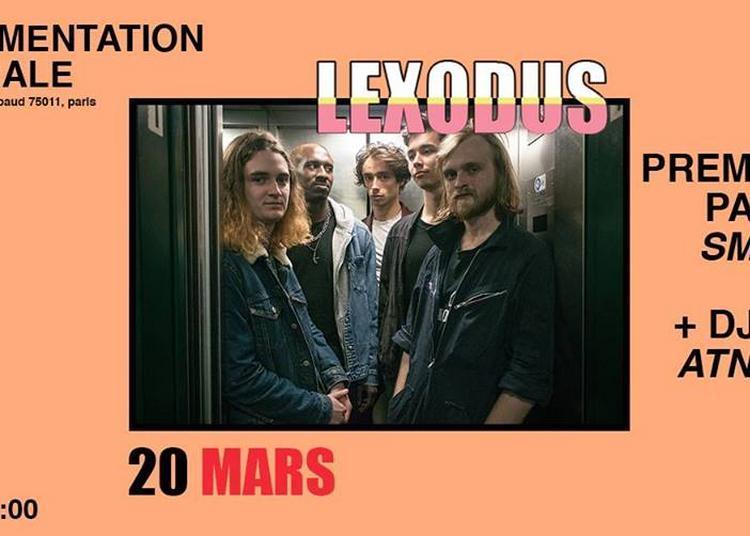Lexodus X SMAY'S X ATN $OUL à Paris 11ème